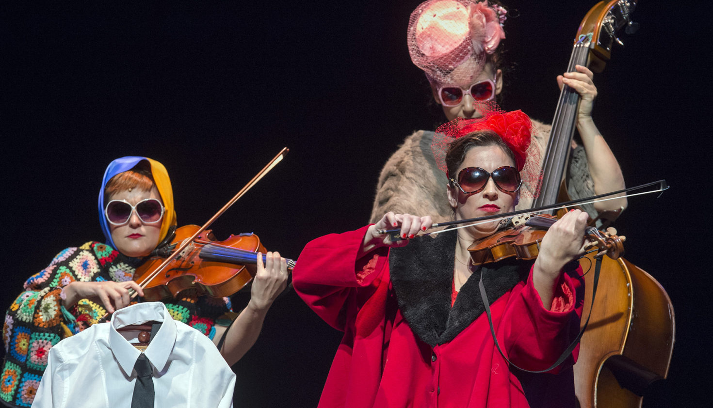 Contraescena. The Funamviolistas. Teatros del Canal (2017). Foto: Daniel Alonso