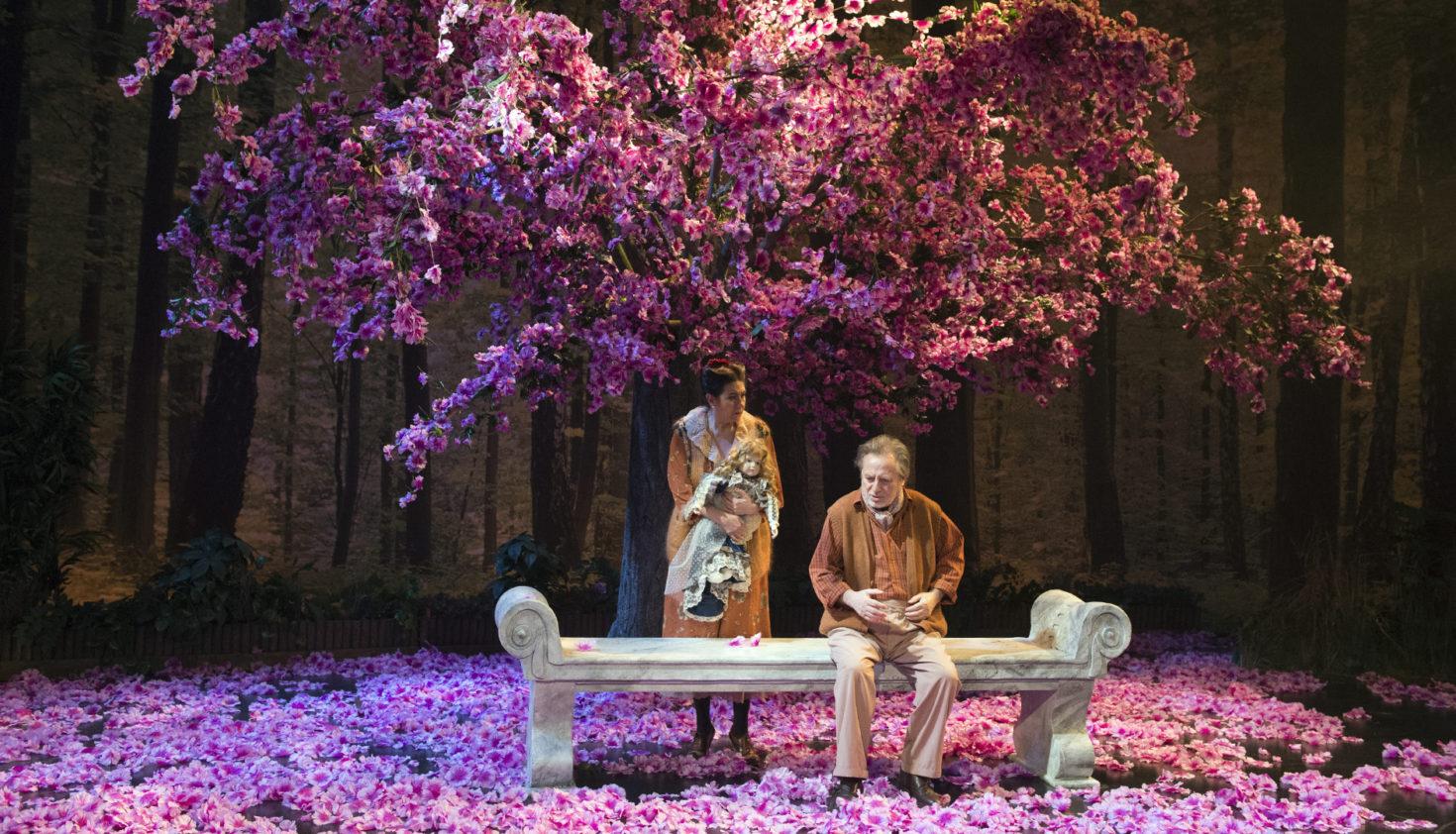 En el oscuro corazón del bosque. Teatro Español. Naves del Matadero (2016). Foto: Daniel Alonso