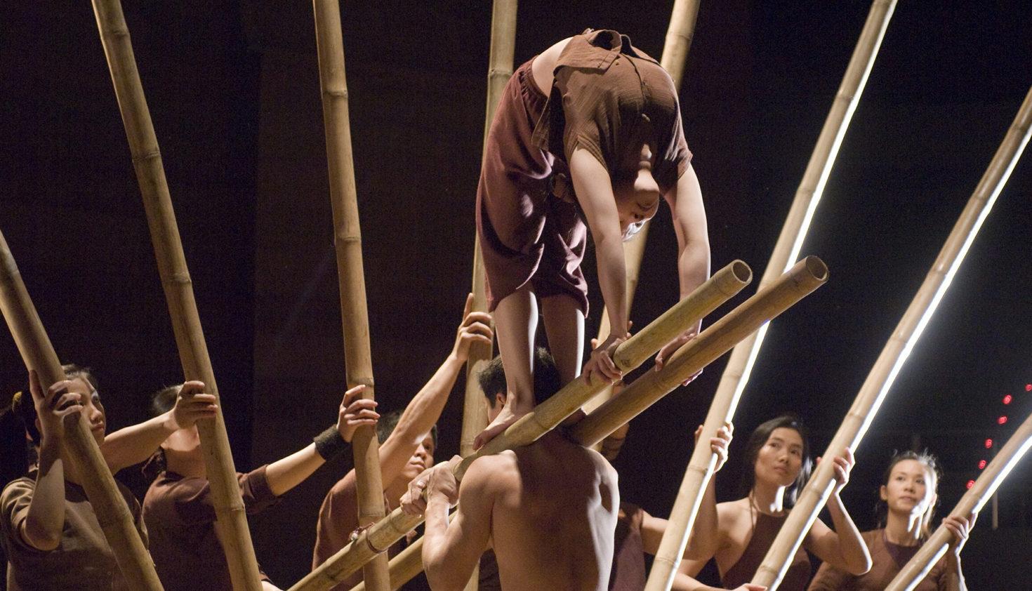 Lang Toi. Nuevo Circo de Vietnam. Teatro Circo Price (2009). Foto: Daniel Alonso