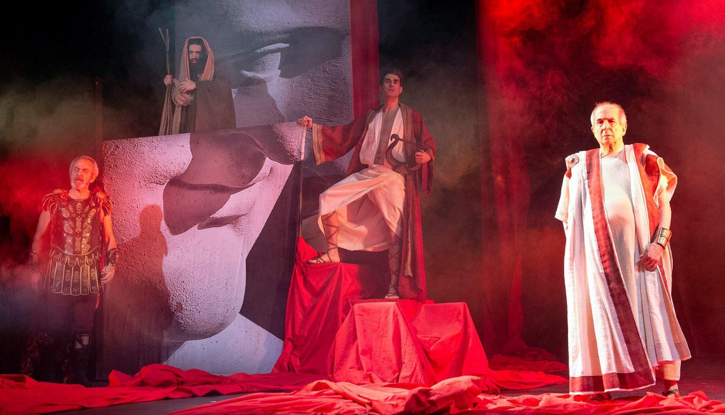 'Nerón'. Festival Internacional de Teatro Clásico de Mérida y Secuencia 3. Foto: Daniel Alonso.