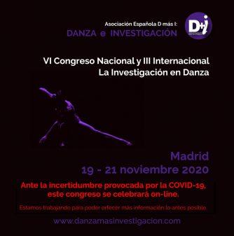 """Congreso Nacional e Internacional """"La Investigación en Danza"""""""