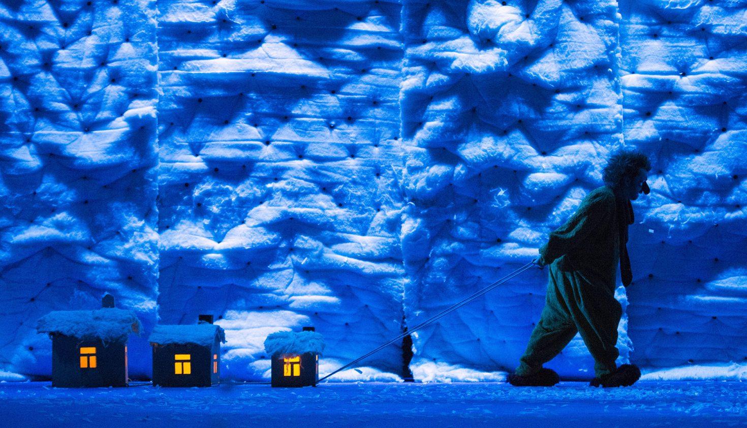 'Slava´s snowshow'. De Slava Polunin. Foto: Daniel Alonso