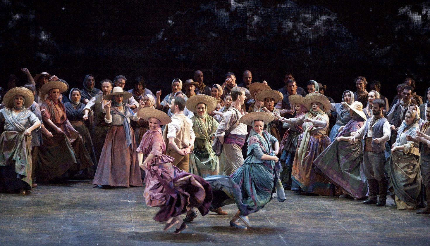 'Luisa Fernanda'. Producción: Teatro de la Zarzuela. Foto: Daniel Alonso (CDAEM)