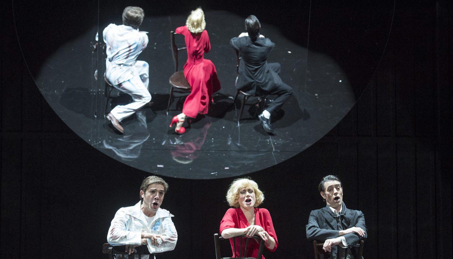 'El cantor de México'. Coproducción: Teatro de La Zarzuela y Opera de Lausanne Foto: Daniel Alonso / CDAEM