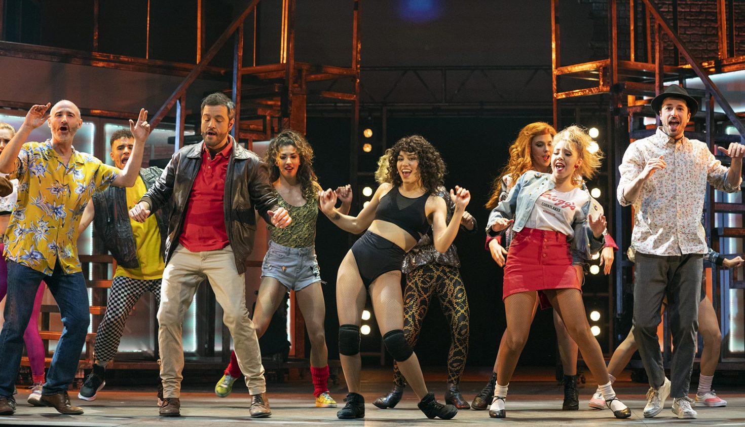 'Flashdance, el musical'. Producción: Selladoor Worldwide Foto: Daniel Alonso / CDAEM