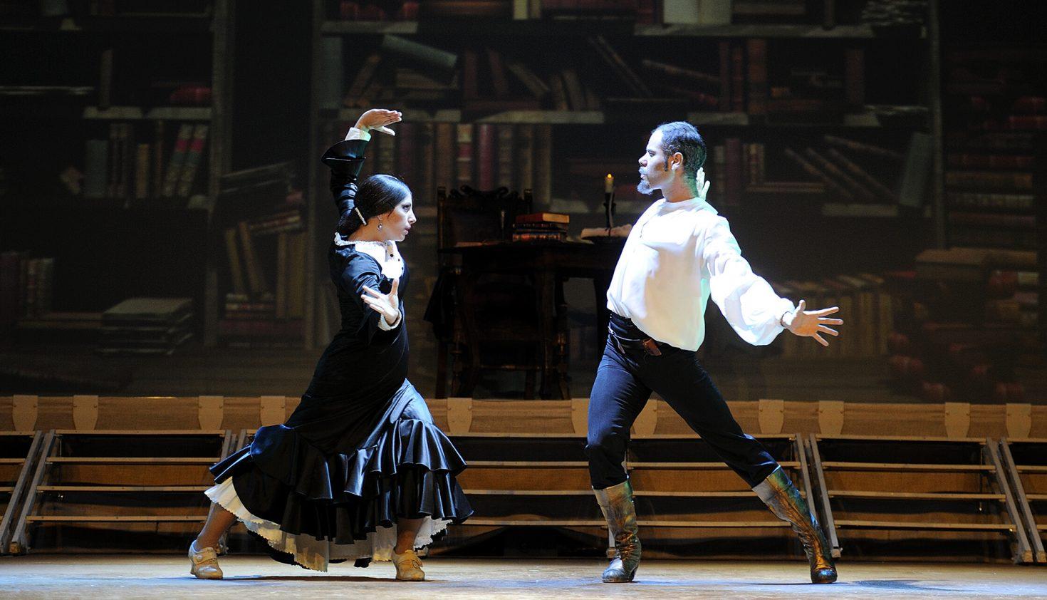 'Quijote, al compás de un sueño'. Compañía Prodigio BAF Flamenco. Foto: David Ruano.